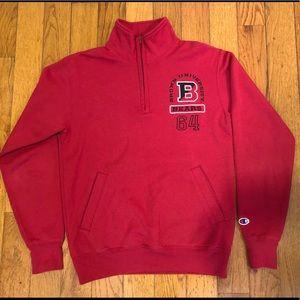 Brown university zip up sweater